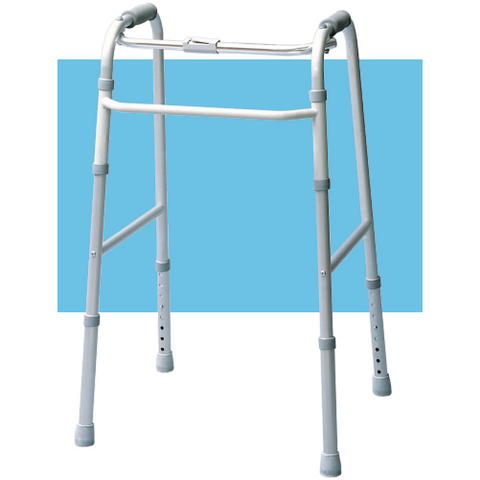 Graham Field: Lumex Adult Single Release Folding Walkers - 613070A