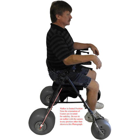 Debug Mobility: Foldable Lightweight All-Terrain Walker