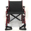 Image of Karman Healthcare: T-920 & T-922 Deluxe Bariatric Transport Wheelchair – T-920 front