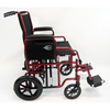 Image of Karman Healthcare: T-920 & T-922 Deluxe Bariatric Transport Wheelchair – T-920 side view