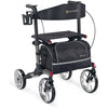 Comodita : Uno Classic Walker Rollator - COM500 Black Side View
