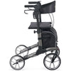 Image of Comodita : Uno Classic Walker Rollator - COM500 Metallic Graphite Side View