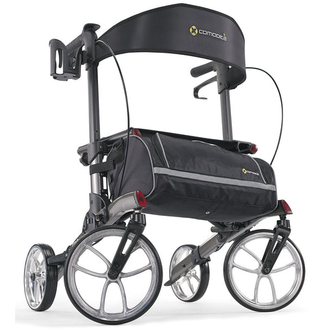 Comodita: Tipo Petite Walker Rollator - COM 910 Black Side View