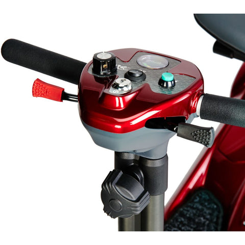 EV Rider: Transport AF+ Automatic Folding Mobility Scooter - S19AF Red Front