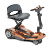 Image of EV Rider: Transport AF+ Automatic Folding Mobility Scooter - S19AF Orange Side