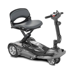 EV Rider: Transport AF+ Automatic Folding Mobility Scooter - S19AF Black Side View