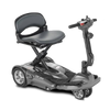 Image of EV Rider: Transport AF+ Automatic Folding Mobility Scooter - S19AF Black Side View