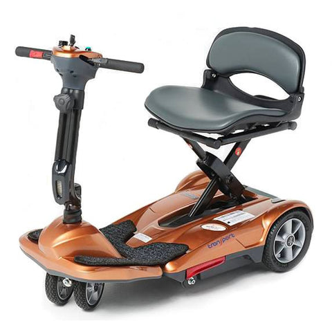 EV Rider: TranSport M Easy Move Scooter Ez Fold - S21 Copper Side