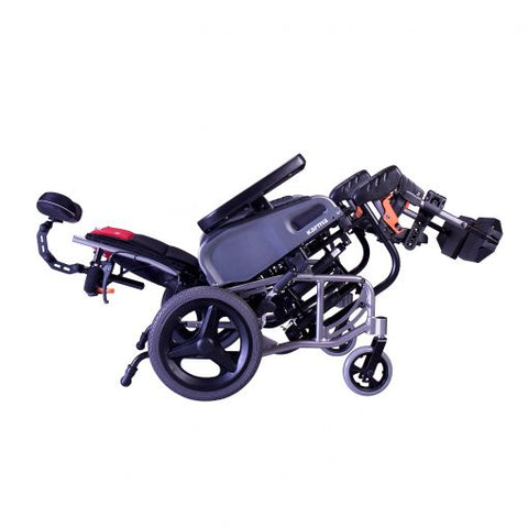 Karman Healthcare: Space & Reclining Transport Wheelchair  – VIP2-TR balanced
