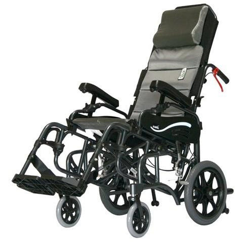 Karman Healthcare :Tilt-in-Space Transport Wheelchairs – VIP-515-TP side view