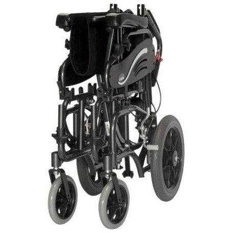 Karman Healthcare :Tilt-in-Space Transport Wheelchairs – VIP-515-TP folded