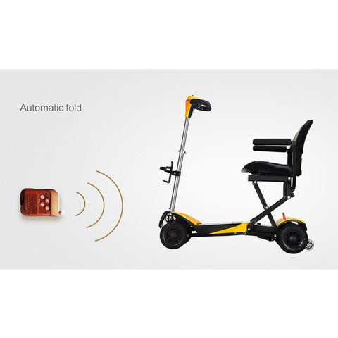 Karman Healthcare: Volare Foldable Power Wheelchair  –  SC-F100 automatic fold