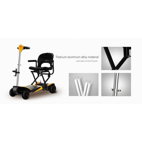 Karman Healthcare: Volare Foldable Power Wheelchair  –  SC-F100 materials