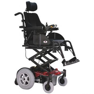 EV Rider: Vision P13 Power Wheelchair Black
