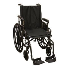 "Compass Health: Roscoe Onyx K4 Wheelchair (16"" with Swing-Away Footrests) - W416168S Main View"