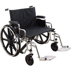 "Compass Health: Roscoe Extra Wide Bariatric K7 Wheelchair (26"" Wide, Swing-Away Footrests) - W7HD26S Main View"