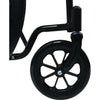 "Compass Health: ProBasics K1 Wheelchair with 18"" x 16"" Seat, Flip-Back Desk Arms, Elevating Legrests - WC11816DE Caster Wheel"