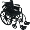 "Image of Compass Health: ProBasics K3 Lightweight Wheelchair with 18"" x 16"" Seat, Flip-Up Height Adj Desk Arms, Elevating Leg-rests - WC31816DE Removable Arms rest"