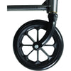 "Compass Health: ProBasics Reclining Wheelchair, 20"" x 17"", Removable Desk Arms & ELRs - WCR2018E Caster Wheel"