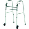"Compass Health: ProBasics Sure Lever Release Folding Walker with 5"" Wheels, (Junior) - WKAJWSL"