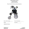 Image of Debug Mobility: Foldable Lightweight All-Terrain Walker - Walker Measurement