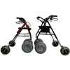 Image of Debug Mobility: Foldable Lightweight All-Terrain Walker - Walker Cut out