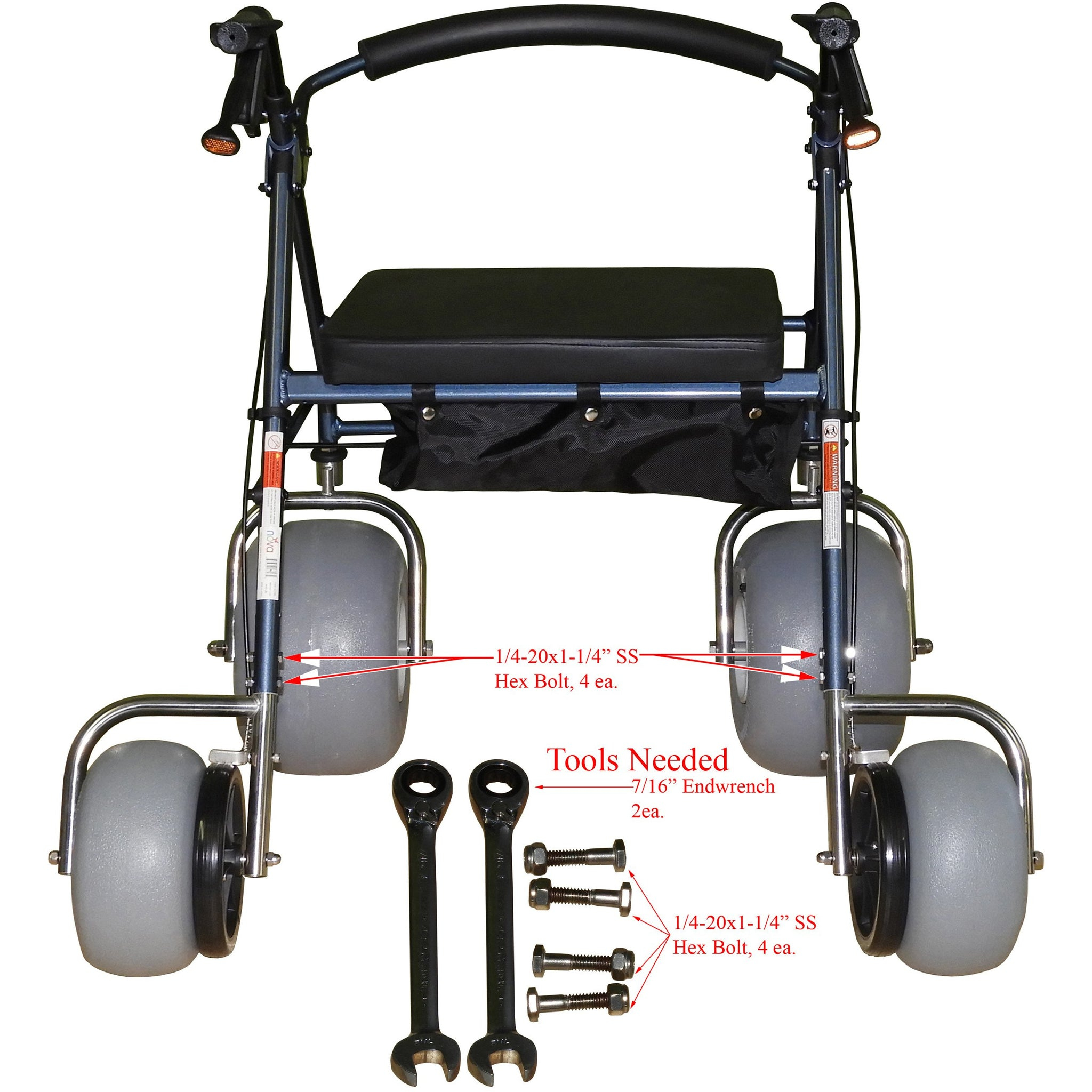 Debug Mobility: Foldable Lightweight All-Terrain Walker - Walker Tool Instructions