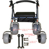 Image of Debug Mobility: Foldable Lightweight All-Terrain Walker - Walker Tool Instructions