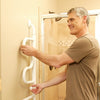 Image of Stander: Curve Grab Bar - 9000 - Folded View