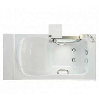 "Bathworks: Acrylic Walk-in Tub 52"" x 30"" x 38"""