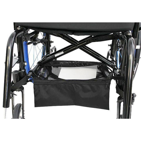 "New Solutions: Mesh Under-Shelf (Cargo Net) for Wheelchairs 15"" x 16"" - AC160 - Actual Image"