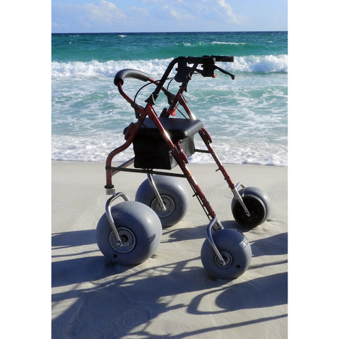 Debug Mobility: Foldable Lightweight All-Terrain Walker - Aluminium Walker with Pouch