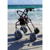Image of Debug Mobility: Foldable Lightweight All-Terrain Walker - Aluminium Walker with Pouch