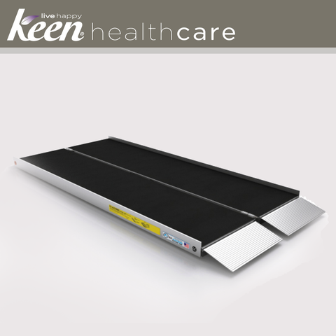 Keen Healthcare: Ez-Access Advantage Suitcase® Singlefold As Ramp, 5′ x 29.5″ 800lb Cap - EFFEZAS5 - Actual Image