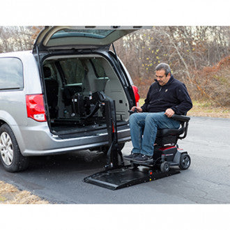 Pride Mobility: Backpacker AVP 2.0 Interior Van Lift