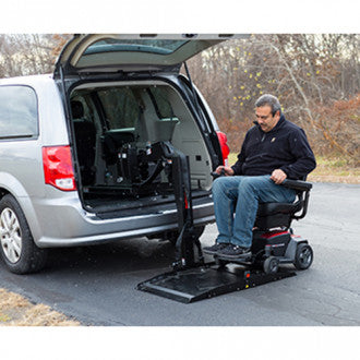 Pride Mobility: Backpacker Plus Interior Van Lift - DISCONTINUED
