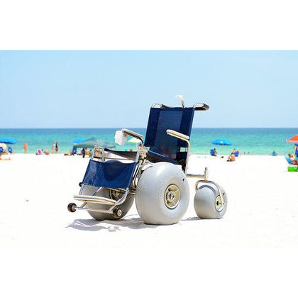Beach Wheelchairs: Elevating Leg Rest All-Terrain Beach Wheelchair