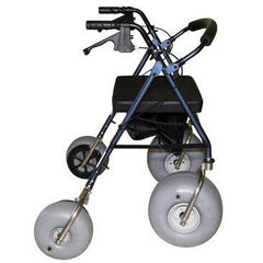 Beach Wheelchairs: Foldable Lightweight All-Terrain Walker - Standard Aluminium