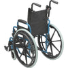 "Image of  Wallaby Pediatric Folding Wheelchair, 14"", Jet Fighter Blue - WB1400-2GJB"
