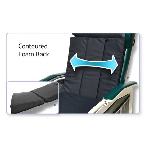 Immersus Health: Posture-Mate G - 2217 - Seat Back view