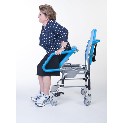 Ergoactives: Ergo Commode Chair - A024 - Movable Seat