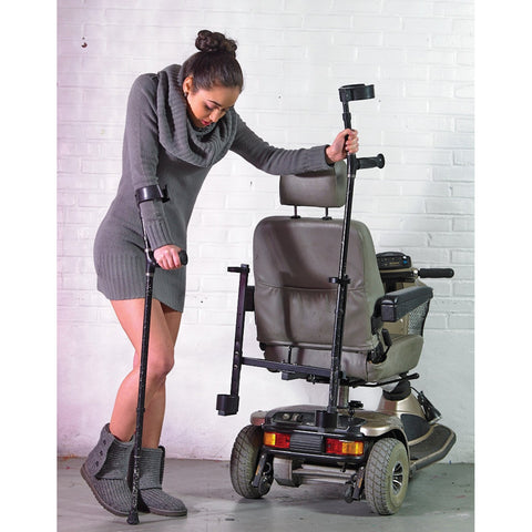 See and Be Safe: Double Crutch Holder - 20229 - Use of Crutch