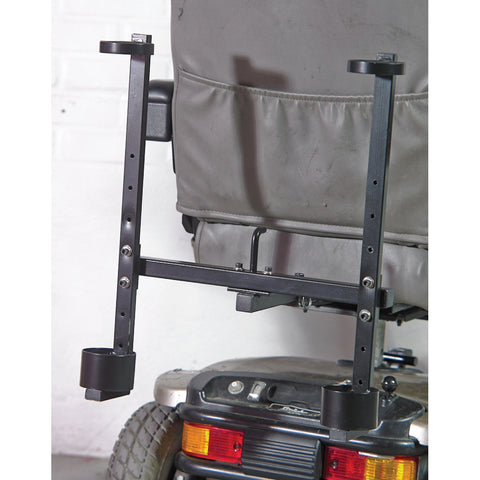 See and Be Safe: Double Crutch Holder - 20229 - Crutch Frame