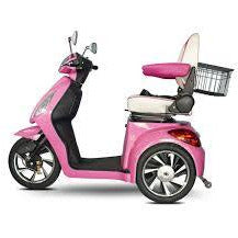 E-Wheels: 80 Pink Scooter - Mobility Scooters Store