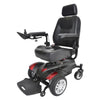 "Titan X16 Front Wheel Power Wheelchair, Vented Captain's Seat, 18"" x 18"" - TITANLB18CSX16"