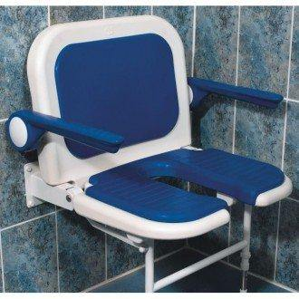 AKW: ARC Deluxe 'U' Shaped Shower Seat with Back and Arms
