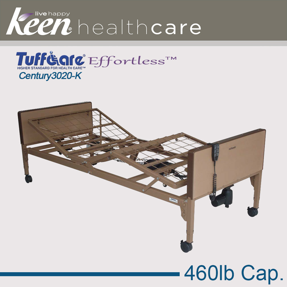 Keen Healthcare Tuffcare® Century High-Low Full Electric Bed Frame
