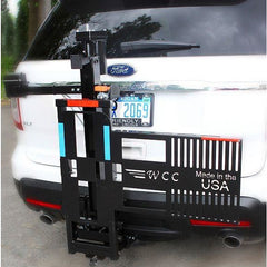 Wheelchairs Carrier: Electric Tilt 'N Tote-Wheel Chair Carrier-Scooters 'N Chairs