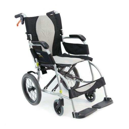 Karman Healthcare : ERGO Lite - Ultra Lightweight Wheelchair  – S-2501 front view