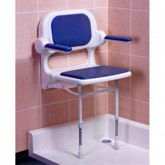 AKW: ARC Economy Shower Seat with Back and Arms